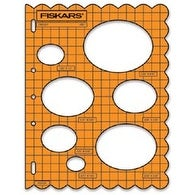 "Shape Template 8.5""X11""-Ovals"