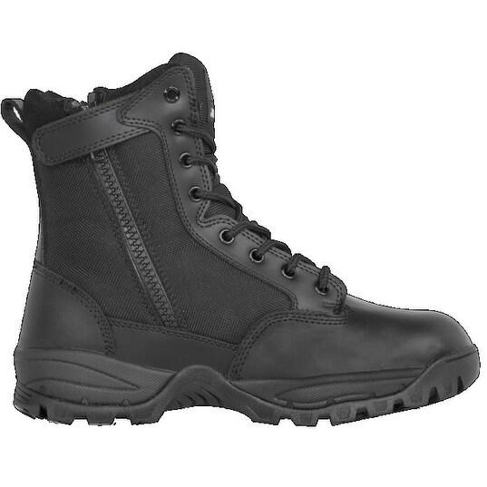 "Maelstrom Mens Tac Elite 8"" Wp Zipper Boot, Black"
