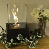 Sunnydaze Cubic Ventless Tabletop Bio Ethanol Fireplace - Multiple Colors Available