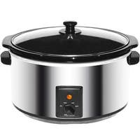 Brentwood 8.0 Quart Slow Cooker Stainless Steel