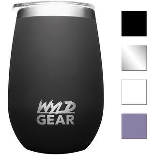 Wyld Gear 12 oz. Insulated Stainless Steel Whiskey and Wine Tumbler - 12 oz.