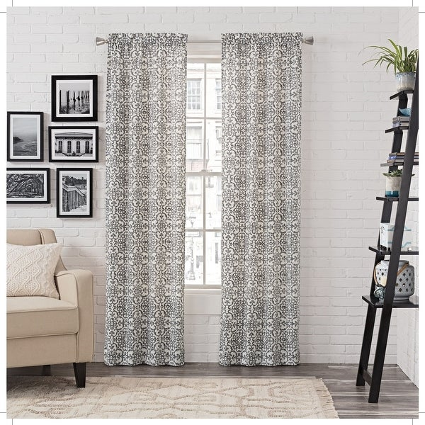 Gracewood Hollow Dumas Window Curtain Panel Pair. Opens flyout.