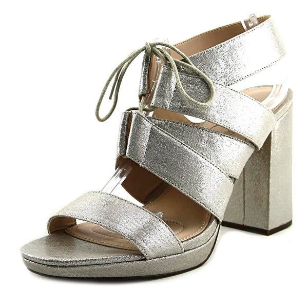 Nina Alvira New Silver Refl Sandals
