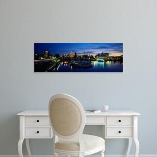 Easy Art Prints Panoramic Image 'Parliament Building, Vancouver Island, Victoria, British Columbia, Canada' Canvas Art