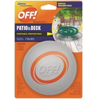 OFF! 75204 Patio & Deck Mosquito Coil