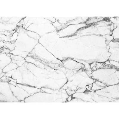 Asher Home White Marble Placemat Set