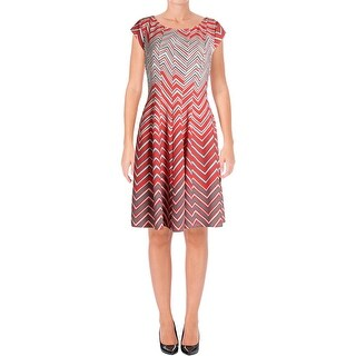 Signature By Robbie Bee Womens Petites Special Occasion Dress Daytime - ps