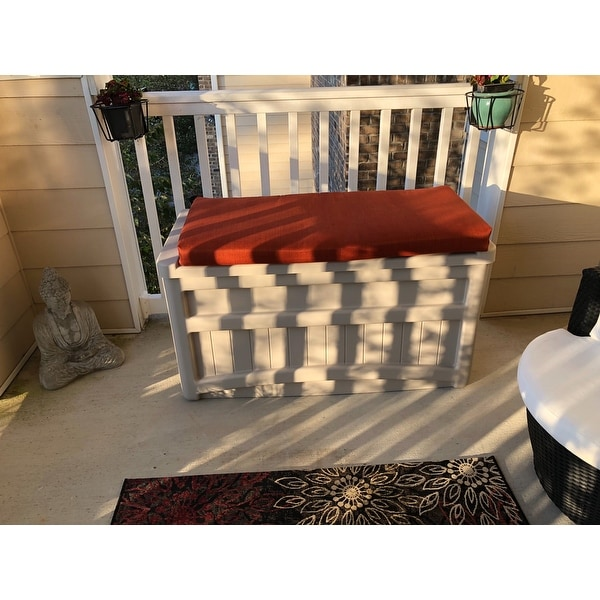 Shop Blazing Needles 40 Inch Indooroutdoor Bench Cushion On Sale