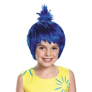 Disguise Inside Out Joy Child Wig - Blue