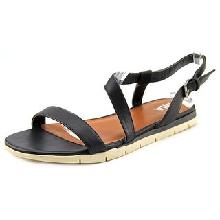 Mia Baseline Open-Toe Synthetic Slingback Sandal