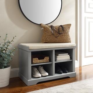 "Link to Anderson Storage Bench - 17.5 ""W x 33.25 ""D x 8.5 ""H - 17.5 ""W x 33.25 ""D x 8.5 ""H Similar Items in Living Room Furniture"