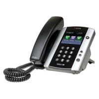 Polycom 2200-48500-025 VVX 501 12-line Corded Business Media Phone
