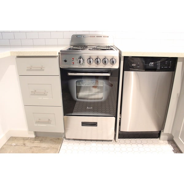 Shop Spt Energy Star 18 Inch Built In Dishwasher Stainless Steel