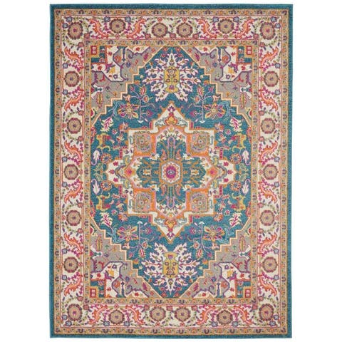 The Curated Nomad Cayuga Oushak Medallion Area Rug