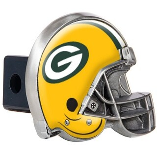 Great American Products Green Bay Packers Helmet Trailer Hitch Cover Helmet Trailer Hitch Cover