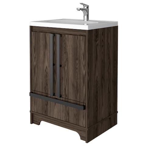 Tridell 23in Bathroom Vanity in Gray