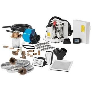 FCF Platinum Series Air Conditioner Complete System Kit w/KoolAir PM500 Pump Ducting - 6,000 BTU/h - 115V Air Conditioner