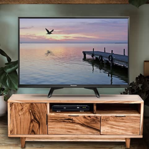 Valencia Live Edge Suar Wood Media Center/Buffet with 1 door/2 drawers