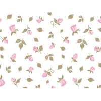 """Pack Of 240, Cottage Rose Garden Recycled Floral Tissue Prints Paper 20"""" X 30"""" Sheets Made In Usa"""