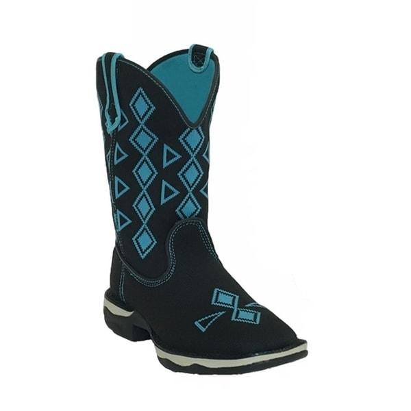 Laredo Western Boots Womens Venturer Woven Lightweight Black