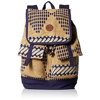 Roxy Womens Coordinates Woven Printed Backpack
