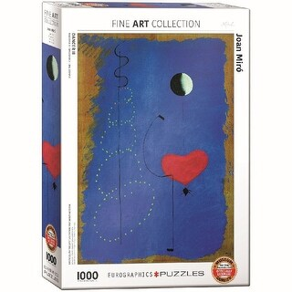 Joan Miro Dance II 1000 Piece Puzzle