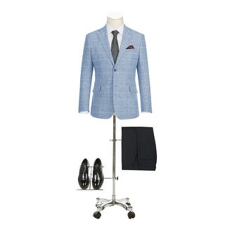 Link to Men's Summer Slim Fit Pliad Blazer Cotton Linen Sport Coat Similar Items in Sportcoats & Blazers
