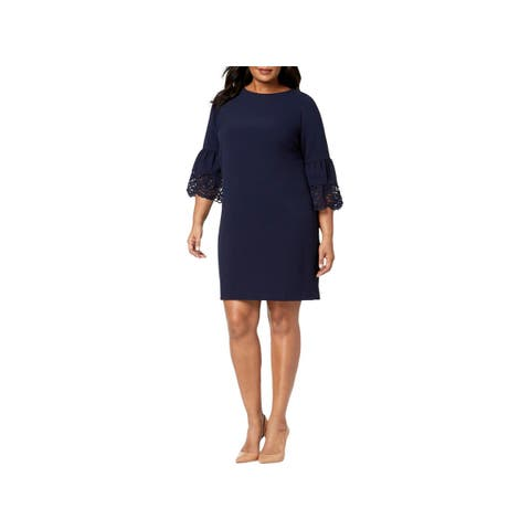 Jessica Howard Womens Plus Cocktail Dress Mini Special Occasion
