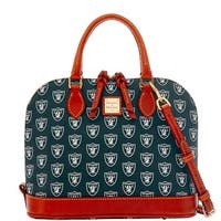 Dooney & Bourke NFL Oakland Raiders Zip Zip Satchel (Introduced by Dooney & Bourke at $248 in Aug 2016)