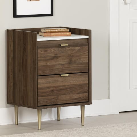 South Shore Hype 2-Drawer Nightstand