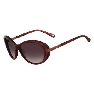 Nine West Womens Oval Sunglasses Oversized Fashion - Bordeaux - o/s