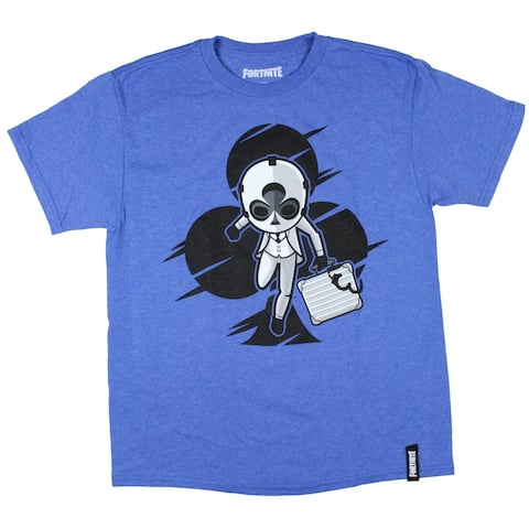 Fortnite Boy's Wild Card Clubs Suit Graphic T-Shirt