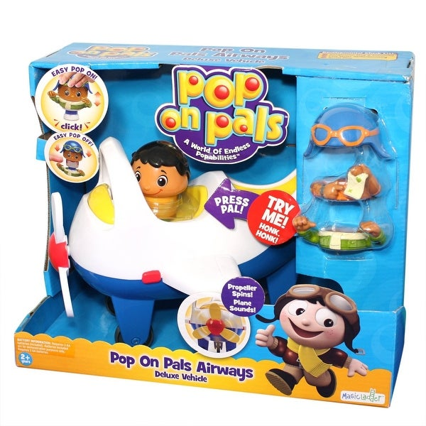 Pop On Pals Airways Deluxe Vehicle
