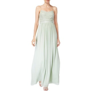 Link to Adrianna Papell Womens Evening Dress Chiffon Embellished Similar Items in Dresses