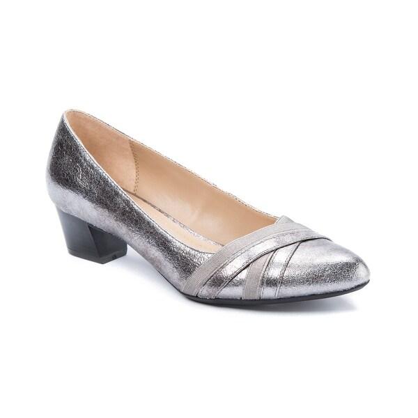 Andrew Geller Olena Women's Heels Old Silver