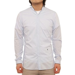 The Kooples HCC736 Long Sleeve Collared Button Down Men Dress Button