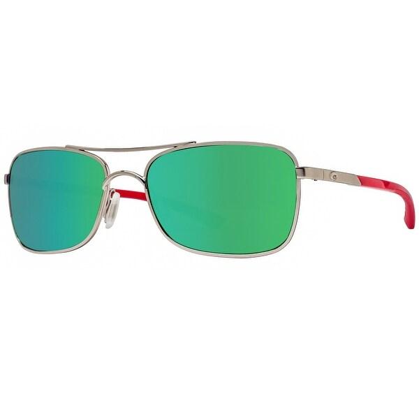 22d626837b4af Costa Del Mar Palapa AP83OGMGLP Palladium Green Mirror Polarized 580G  Sunglasses - palladium red