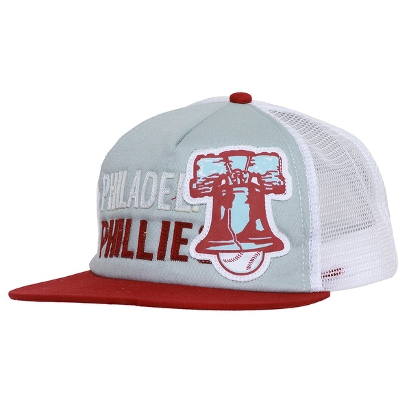 Shop Philadelphia Phillies Liberty Bell Logo Original Vintage Snapback Red  w  Grey - Free Shipping On Orders Over  45 - Overstock - 16947706 b11fce7154d