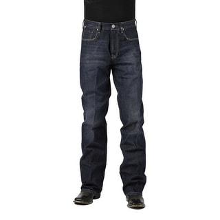 Stetson Western Denim Jeans Mens Modern Dark 11-004-1312-4039 BU
