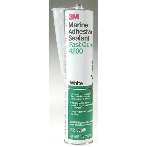 3m 06560 Marine Adhesive/Sealant Fast Cure 4200