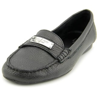 Coach Fredrica   Moc Toe Leather  Loafer