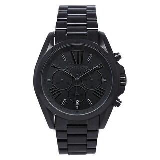 Michael Kors Women's Bradshaw Black Dial Watch