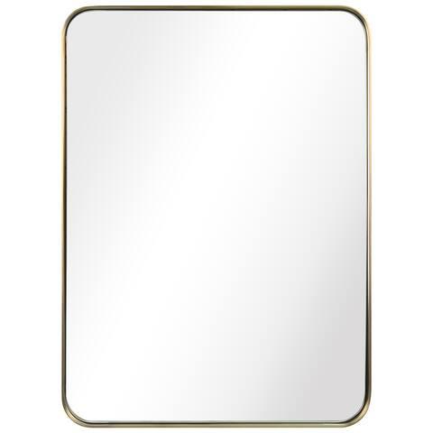Ultra Stainless Steel Rectangular Wall Mirror
