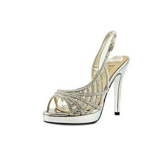 E! Live From The Red Carpet E0045 Open Toe Canvas Sandals