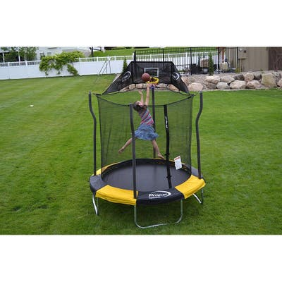 Propel 7' Round Trampoline with Safety Enclosure