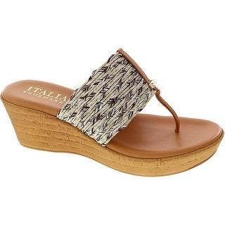 ITALIAN Shoemakers Women's, Angeles Thong Sandals