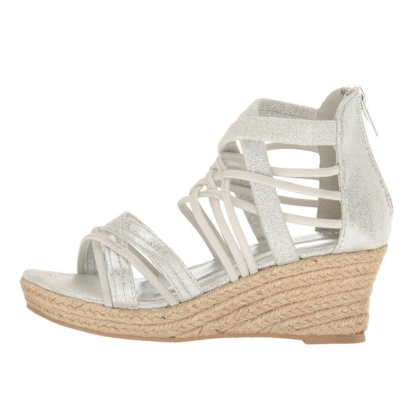 Kenneth Cole Reaction Womens Reed Stretch Open Toe Casual Platform Sandals