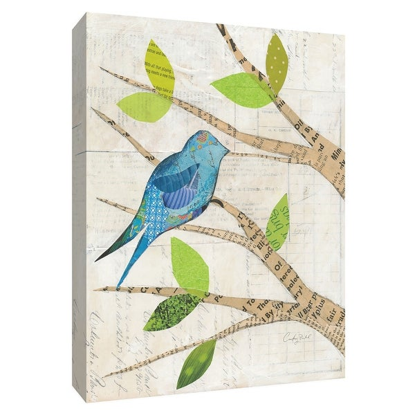 """PTM Images 9-154914 PTM Canvas Collection 10"""" x 8"""" - """"Birds in Spring I"""" Giclee Birds Art Print on Canvas"""