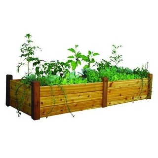 Gronomics RGBT 34-95S Safe Finish 34 x 95 x 19 in. Raised Garden Bed