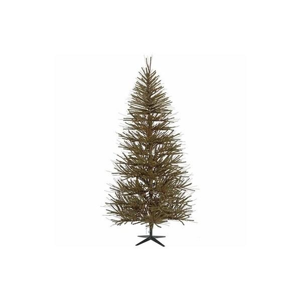 """5' x 34"""" Vienna Twig Medium Artificial Christmas Tree - Unlit"""